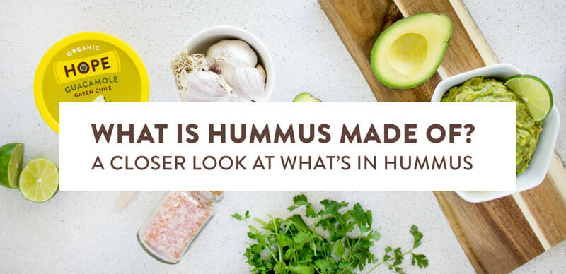 Hummus is made from what?