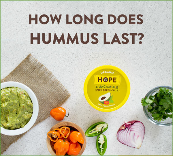 Does hummus go bad if left out?