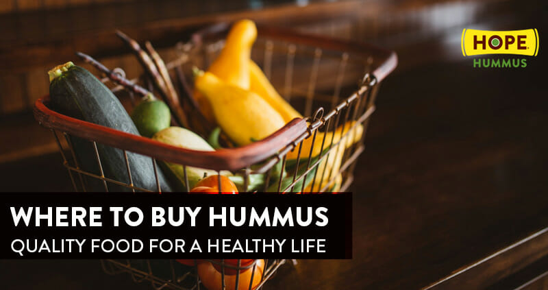 Hummus Buy - Quality Food for a Healthy Life