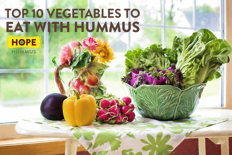 Top 10 Vegetables to Eat with Hummus