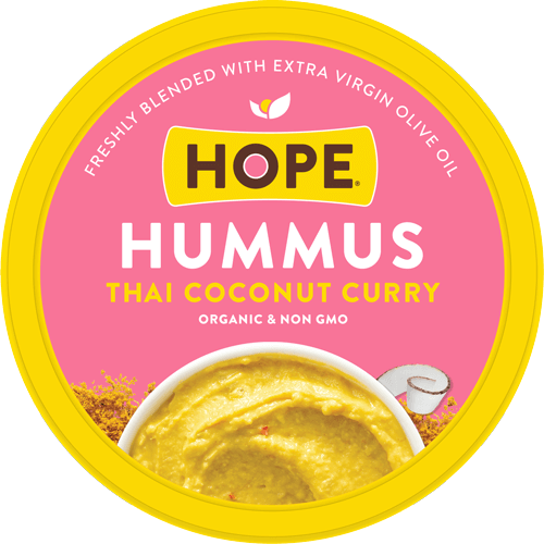 Thai Coconut Curry Lid from Hope Hummus