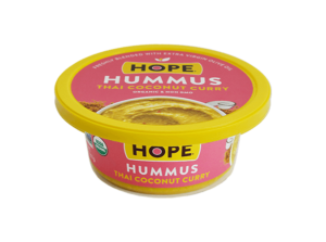 Thai Coconut Curry Hummus from Hope Foods