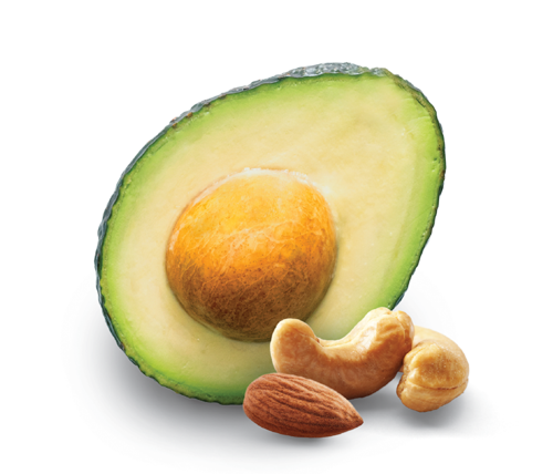Ingredients for avocado dip
