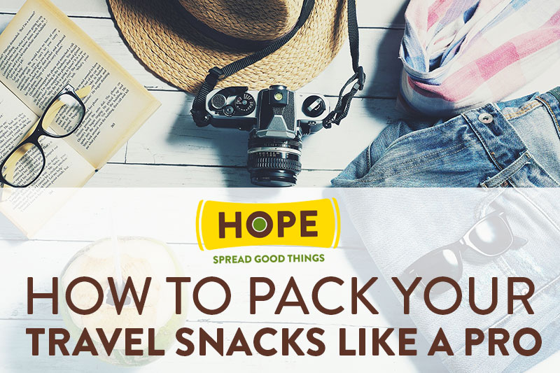 How to Pack Your Travel Snacks Like a Pro